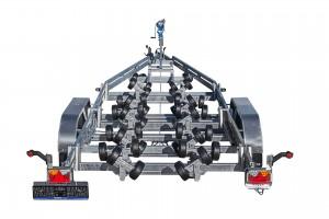 BP3500-DRB Multiroller [Bildene er illustrerende, og tilhengere kan inneholde ekstra utstyr]
