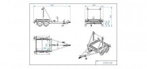 KP2600-DRB   [Bildene er illustrerende, og tilhengere kan inneholde ekstra utstyr]